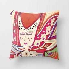 Dame Throw Pillow