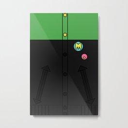 Makoto Jacket Metal Print