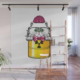 Hazard Cat furniture Design by diegoramonart Wall Mural