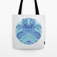 frank Tote Bags featuring Frank by Emelie Sandahl