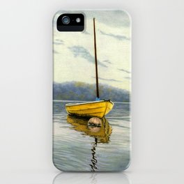 The Little Yellow Sailboat iPhone Case