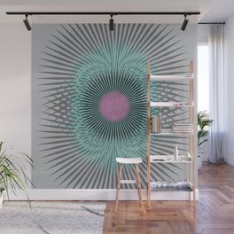 Moon Burst Wall Mural