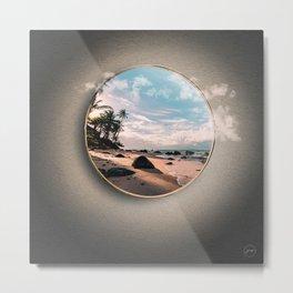 Portal Playa Metal Print
