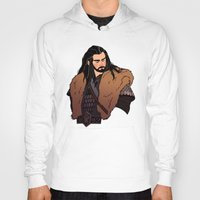 thorin Hoodies featuring Thorin by rdjpwns