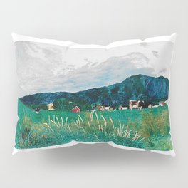 Cows on summer pastures Pillow Sham