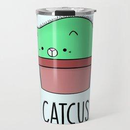 Catcus Travel Mug