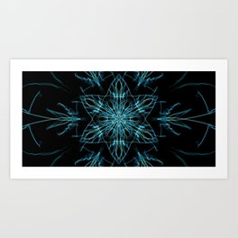 Alien Star Art Print