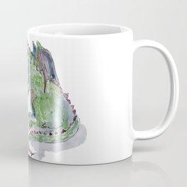 Princess and dragon Coffee Mug