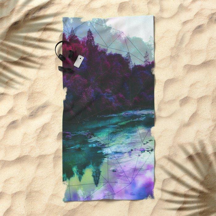 Terrarium Beach Towel