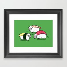 Susheep Framed Art Print