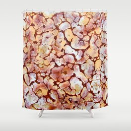 Nature brown Shower Curtain