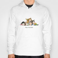 teen wolf Hoodies featuring Pack McCuddle - Teen Wolf by aredblush
