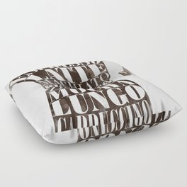 Moka Floor Pillow