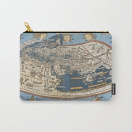 World map 1492 Carry-All Pouch