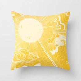 Solar Flare Throw Pillow