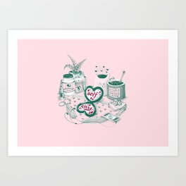 Self Care Art Print