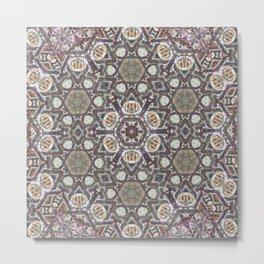 Mandala Of The Earth Metal Print