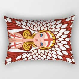 FIFA 2014 Samba Girls Series: England Rectangular Pillow
