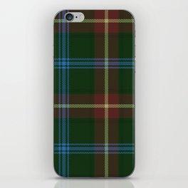 Tartan Of Manitoba iPhone Skin