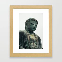 Great Buddha in Kamakura Framed Art Print