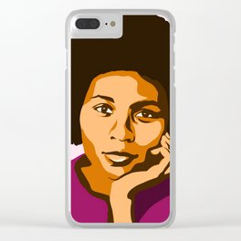 bell hooks Clear iPhone Case