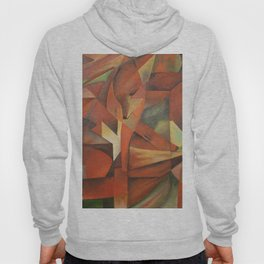 Foxes - Homage to Franz Marc (1913) Hoody
