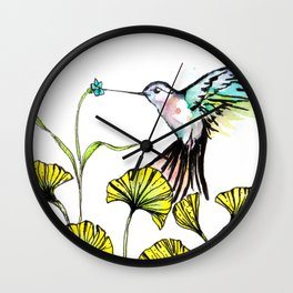 Be Still Wings, So I Can Always Remember You This Way Wall Clock