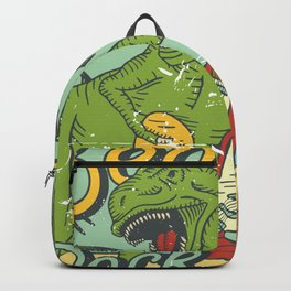 Beach Rock Party Backpack