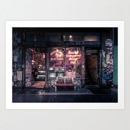 Underground Boxing Club NYC Art Print