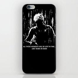 Blade Runner - Like Tears In Rain iPhone Skin