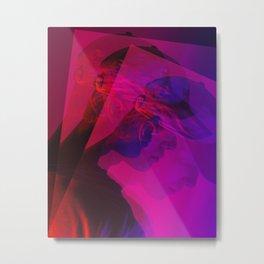 superimposed portrait Metal Print