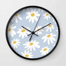 Lazy Daisies  Wall Clock