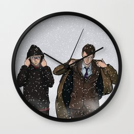 TIME BROS - Doctor Who Wall Clock