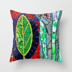 mosaic fantasy  Throw Pillow
