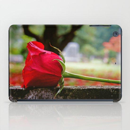Cemetery rose iPad Case