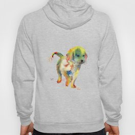 Colorful Puppy - Little Friend Hoody