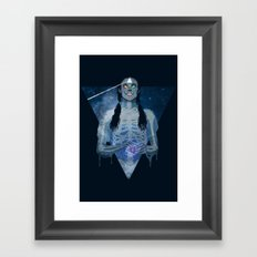 Brain Damage Framed Art Print