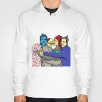 seinfeld Hoodies featuring The Uncanny Seinfeld by capperflapper