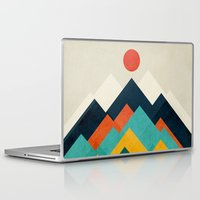outdoor Laptop & iPad Skins featuring The hills are alive by Picomodi