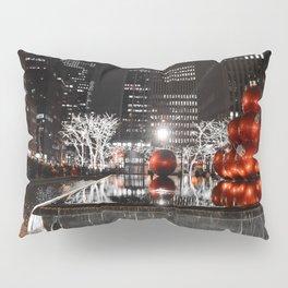 NYC Christmas Pillow Sham