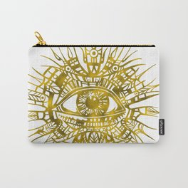 GOLDEN VISIONARY - ALL-SEEING EYE Carry-All Pouch