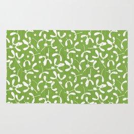 Rustic Mistletoe - Greenery Rug