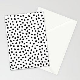 Dalmation Brushstroke Spots Stationery Cards