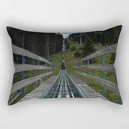 adventure park hög schneisenfeger coaster alps sfl tyrol austria europe Rectangular Pillow