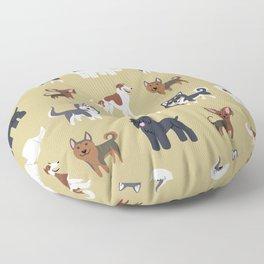 RUSSIAN DOGS Floor Pillow