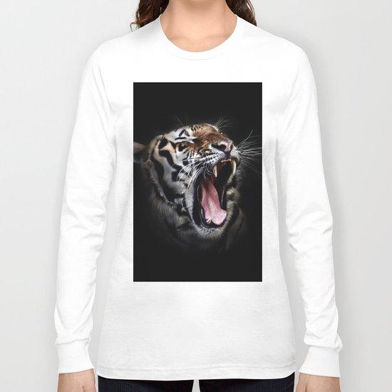 Ferocious Tiger Long Sleeve T-shirt