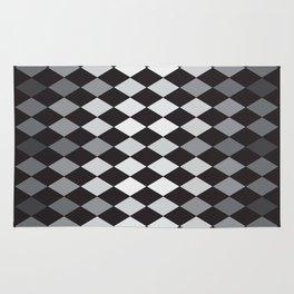 Argyle Pattern- Smaller Diamonds Rug