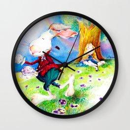 Alice in my Wonderland Wall Clock