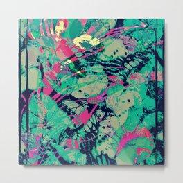 Butterfly Remix 2 Metal Print