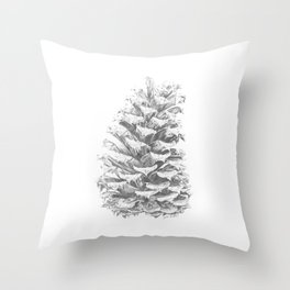 Pine Cone (Extended) Throw Pillow